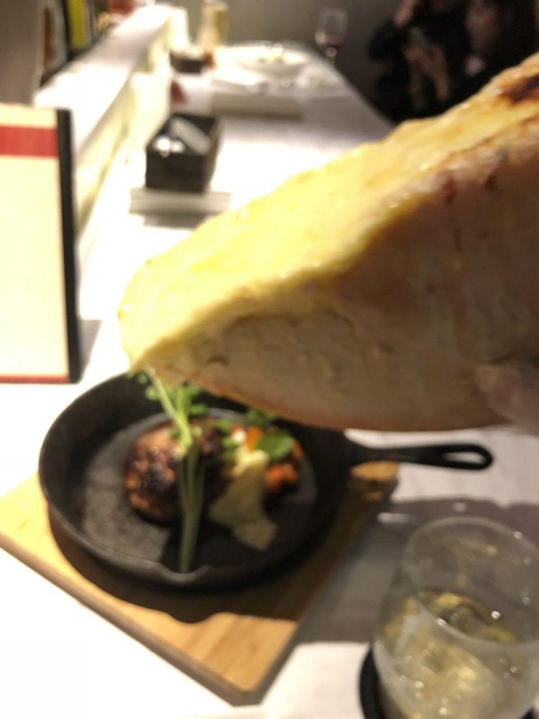 ハンバーグチーズかけ