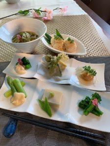 春野菜いろいろ味わい膳